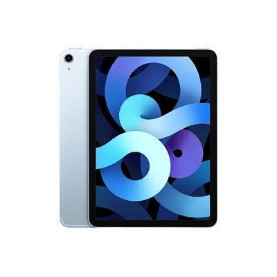 image Apple iPadAir (10,9 Pouces, Wi-FI + Cellular, 256 Go) - Bleu Ciel (2020, 4ᵉgénération)