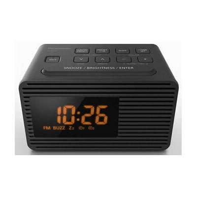 image Panasonic RC-800EG-K Radio Portable Horloge Noir RC-800EG-K, Horloge, FM, 87.5-108 MHz, Auto Tuning, 1 W, 1-1000 Hz