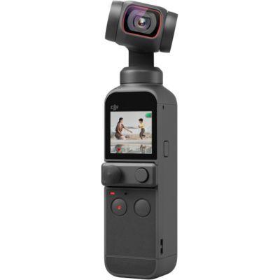 """image DJI Pocket 2 - Caméra 4K à Stabilisation 3 Axes, Vlog, Vidéo Ultra HD, Photo Haute Résolution 64 MP, 1/1.7"""" CMOS, HDR, Réduction du Bruit, Timelapse, Slow Motion, 8x Zoom, Livestreaming"""