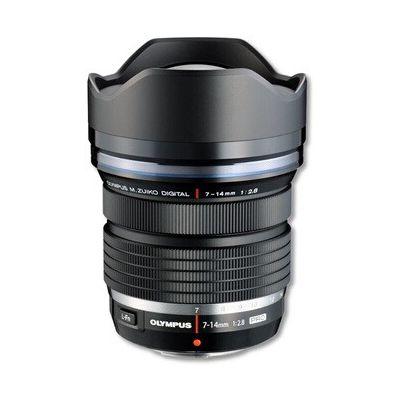 image Olympus M.Zuiko Objectif Digital ED 7-14mm F2.8 PRO, zoom grand angle, compatible tout appareil Micro 4/3 (modèles Olympus OM-D & PEN, Panasonic série G), Noir