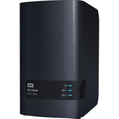image produit WD My Cloud EX2 Ultra - NAS 2 baies - 16To