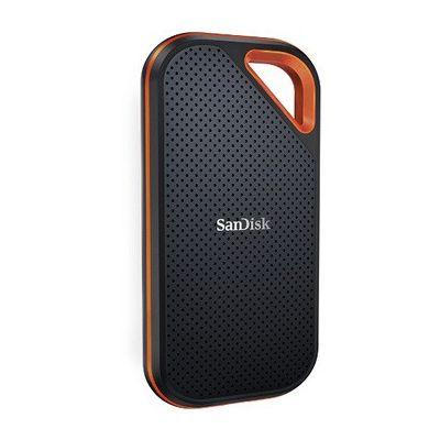 image SanDisk Extreme Pro Portable SSD 2To - Disque SSD externe jusqu'à 1050Mo/s en lecture, USB-C, robuste et résistant à l'eau