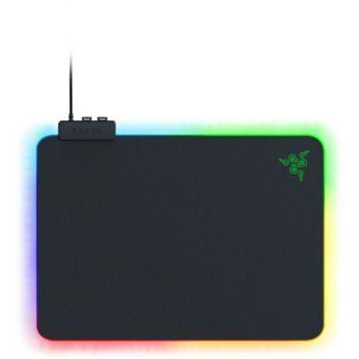 image Razer Firefly v2 - Tapis de souris de jeu (tapis de souris de jeu avec surface micro-texturée, support de câble et éclairage RVB) noir