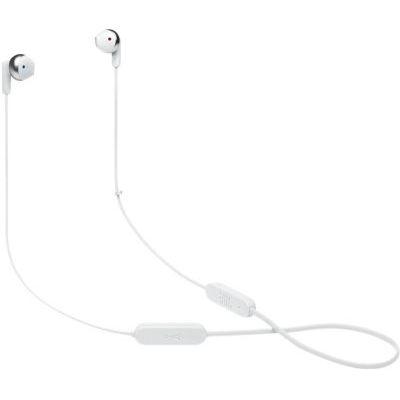 image JBL TUNE 215BT - Casque intra-auriculaire sans fil avec Bluetooth 5.0 et assistant vocal intégré, JBL Pure Bass Sound, jusqu'à 16 heures de musique, blanc