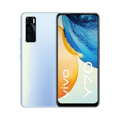 image Smartphone VIVO Y70 128Go Bleu (Snapdragon 665, 8 Go de RAM, 4G, 6,44 pouces)
