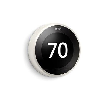 image Nest Learning Thermostat, 3e génération, blanc