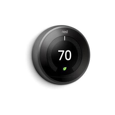 image Nest Learning Thermostat, 3e génération, noir