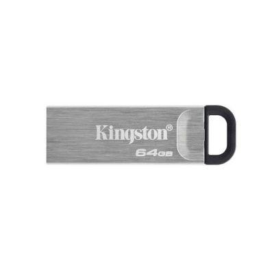image Kingston DataTraveler Kyson Clé USB3.2, 64GB - avec élégant boîtier métal sans capuchon