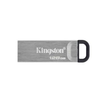 image Kingston DataTraveler Kyson Clé USB3.2, 128GB - avec élégant boîtier métal sans capuchon
