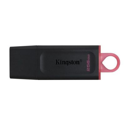 image Kingston DataTraveler Exodia DTX/256GB Clé USB 3.2 Gen 1 - avec capuchon de protection et anneaux pour porte-clés de plusieurs couleurs