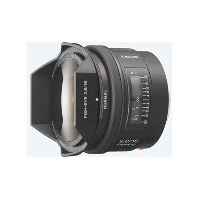 image Sony Objectif Fisheye SAL-16F28 Monture A Plein Format 16 mm F2.8