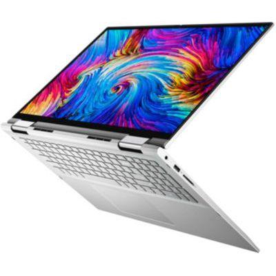 "image Dell Inspiron 17 2-en-1 7706 Ordinateur Portable 17"" QHD+ Tactile Platinum Silver (Intel Core i5, 8Go de RAM, 512 Go SSD, Intel Iris XE - UMA Graphics, Windows 10 Home) Clavier AZERTY Français"