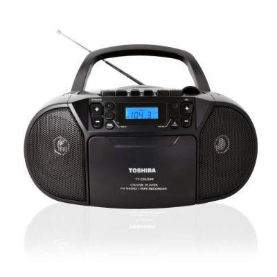 image TOSHIBA Boombox CD-Bluetooth-Cassette