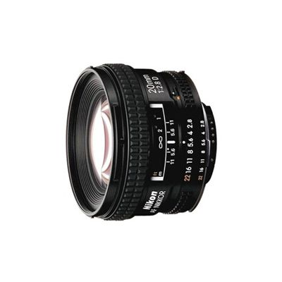 image Objectif à Focale fixe Nikon AF 20MM F/2,8 D