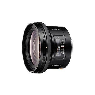 image Sony Objectif SAL-20F28 Monture A Plein Format 20 mm F 2.8