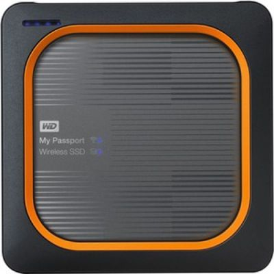 image Disque dur interne Western Digital My passport Wireless 1To Gris