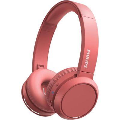 image Philips TAH4205RD - Casque sans fil - Supra aural -  Bluetooth- 32 mm driver - Autonomie de 29h - USB-C-  Corail