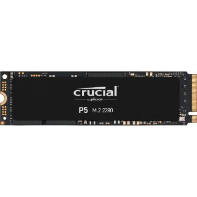 image Crucial P5 500Go CT500P5SSD8 Internes SSD-jusqu'à 3400 Mo/s (3D NAND, NVMe, PCIe, M.2, 2280SS)
