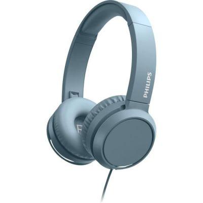 image Philips TAH4105BL - Casque Supra aural - Filaire - 32mm driver - Pliage compact - Bleu