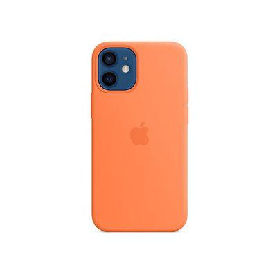 image Apple Coque en Silicone avec MagSafe (pour iPhone 12 Mini) - Kumquat