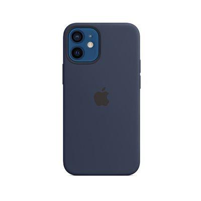 image Apple Coque en Silicone avec MagSafe (pour iPhone 12 Mini) - Marine Intense