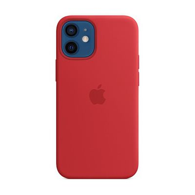 image Apple Coque en Silicone avec MagSafe (pour iPhone 12 Mini) - (Product)Red