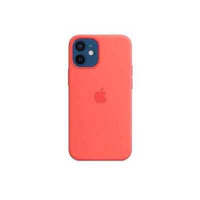 image Apple Coque en Silicone avec MagSafe (pour iPhone 12 Mini) - Rose agrume