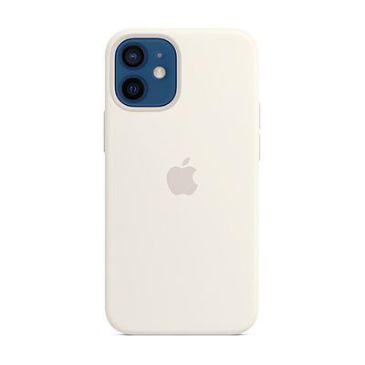 image Apple Coque en Silicone avec MagSafe (pour iPhone 12 Mini) - Blanc