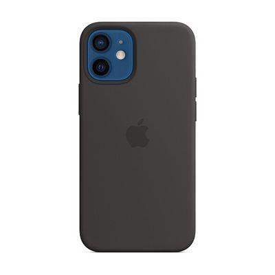image Apple Coque en Silicone avec MagSafe (pour iPhone 12 Mini) - Noir