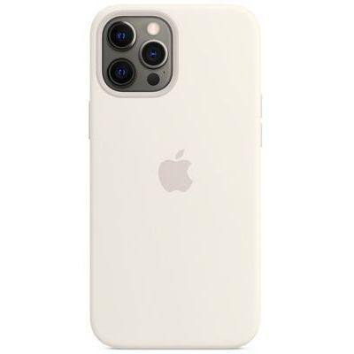 image Apple Coque en Silicone avec MagSafe (pour iPhone 12 Pro Max) - Blanc