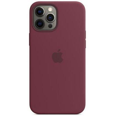 image Apple Coque en Silicone avec MagSafe (pour iPhone 12 Pro Max) - Prune