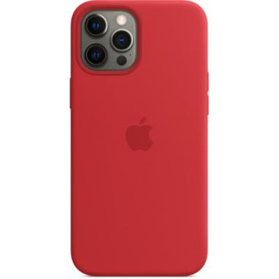 image Apple Coque en Silicone avec MagSafe (pour iPhone 12 Pro Max) - (Product) Red