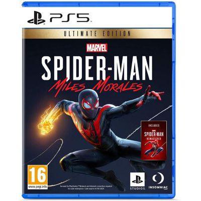 image Sony, Marvel's Spider-Man : Miles Morales sur PS5, Jeu d'action et d'aventure, Ultimate Edition, Version physique, En français, 1 joueur