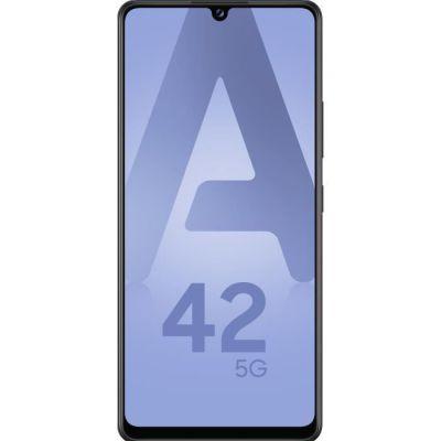 "SAMSUNG Galaxy A42 5G Smartphone portable Débloquée (Ecran : 6,6"" - 4 Go - Android 10.0) - Noir"