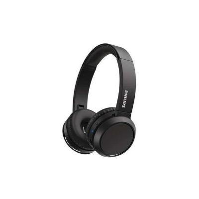 image Philips TAH4205BK - Casque sans fil Supra aural - Bluetooth- 32 mm driver - Autonomie de 29h - USB-C-  Bleu