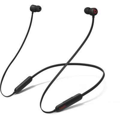 image Écouteurs sans fil Beats Flex – Puce Apple W1, écouteurs magnétiques, Bluetooth – Noir