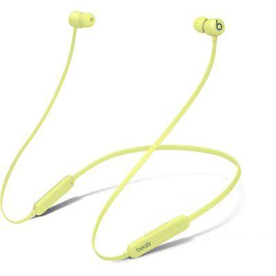 image Écouteurs sans fil Beats Flex – Puce Apple W1, écouteurs magnétiques, Bluetooth  – Jaune Yuzu