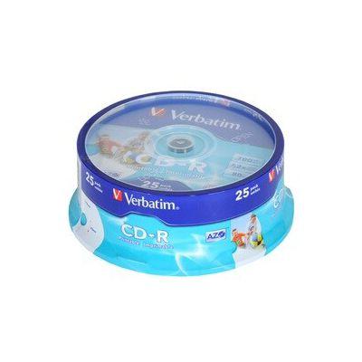 image CD-R / CD-RW Verbatim 25 CD-R Spindle Pack