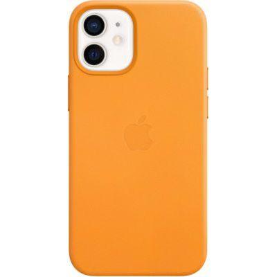 image Apple Coque en Cuir avec MagSafe (pour iPhone 12 Mini) - Pavot de Californie