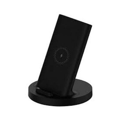 image Chargeur portable Xiaomi MI PAD WIRELESS CHARGING STAND 20W BK