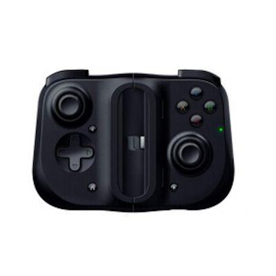 image Razer Kishi pour iOS - Contrôleur de Jeu Pour SmartPhone (Connexion USB-C, Design Ergonomique, Ajustement Individuel pour Téléphones Mobiles, clé Analogique, lAtence Ultra Faible), Noir
