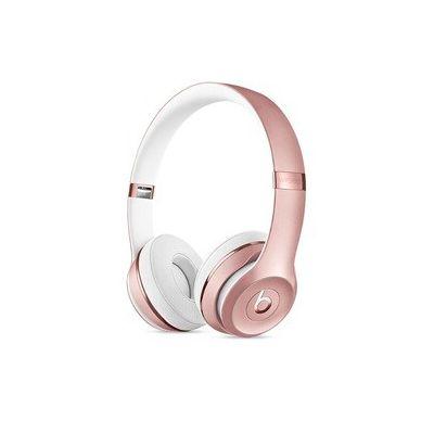 image Casque BeatsSolo3 sans fil- Puce AppleW1, Bluetooth- Or rose