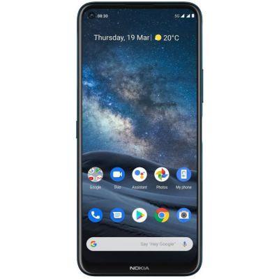 image Nokia 8.3 Smartphone Débloqué 5G - (Ecran : 6,81 Pouces – 8 Go RAM – 128 Go ROM - Double Nano SIM - Android) Bleu [Version Française]