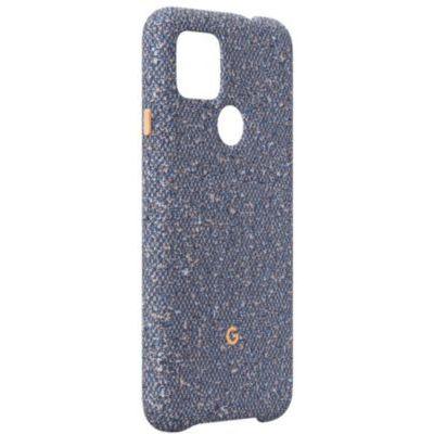 image Étui pour Google P4a 5G - Bleu - Confetti
