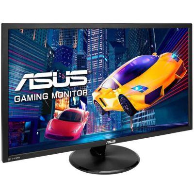 "image ASUS VP28UQG - Ecran PC gaming eSport 28"" 4K UHD - Dalle TN - 16:9 - 1ms - 3840 x 2160 - 300cd/m² - Display Port et 2x HDMI - AMD FreeSync - Ecran Gamer console PS4 / Xbox One X"