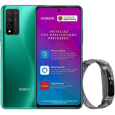 image Smartphone Honor Pack 10X Lite Vert+Band 5 Sport