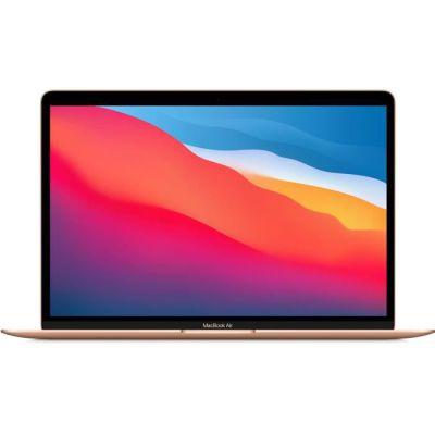 image Apple MacBook Air avec puce Apple M1 (13pouces, 8Go RAM, 256Go SSD) - Or (2020)