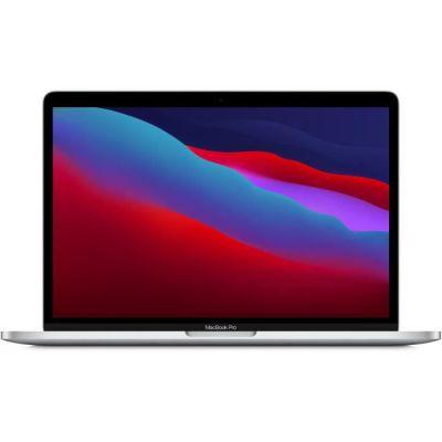 image Apple MacBook Pro avec puce Apple M1 (13pouces, 8Go RAM, 256Go SSD) - Argent (2020)