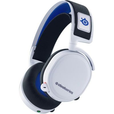 image produit SteelSeries Arctis 7P Wireless - Casque de gaming sans fil 2,4 GHz sans perte - Pour PlayStation 5 et PlayStation 4 - Blanc