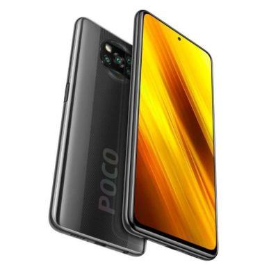 image Poco X3 NFC - Smartphone Débloqué 4G (6,67 Pouces - 6Go RAM - 128Go Stockage, 5160mAh, Quad Caméra – NFC) Gris Shadow - Version Officielle + 2ans de garantie